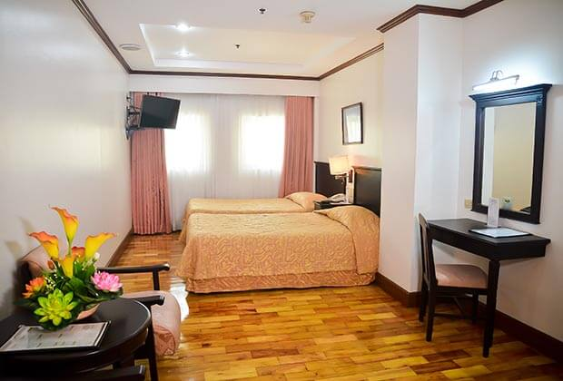Citystate Tower Hotel in Malate - Deluxe Twin