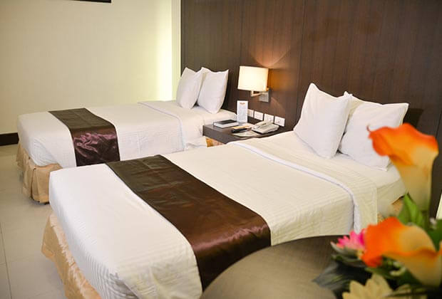 Citystate Tower Hotel in Malate - Superior Twin Premium